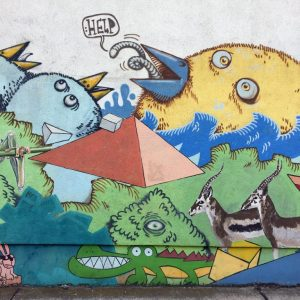 Graffitis in Berlin 54