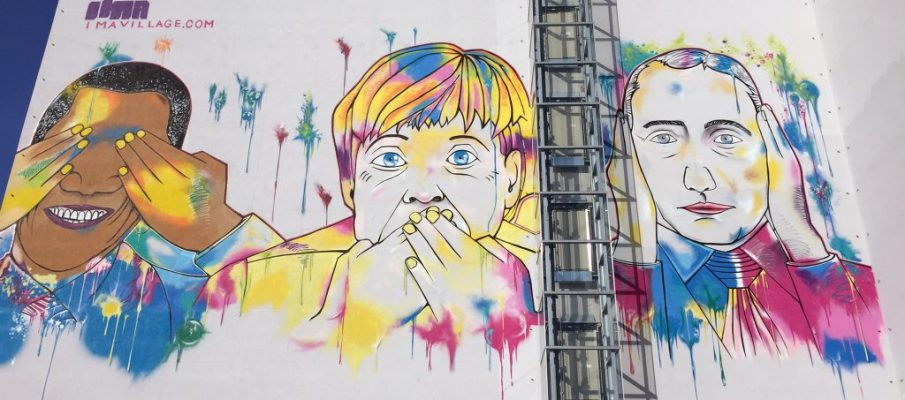 Berlin, Street Art and Graffiti – Series III – IMA Design Villa Building and a Little About my History in Berlin with Videos.