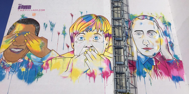 Berlín, Arte Callejero y Graffiti – Serie III – IMA Design Villa Building y un poco sobre mi historia en Berlin con videos.