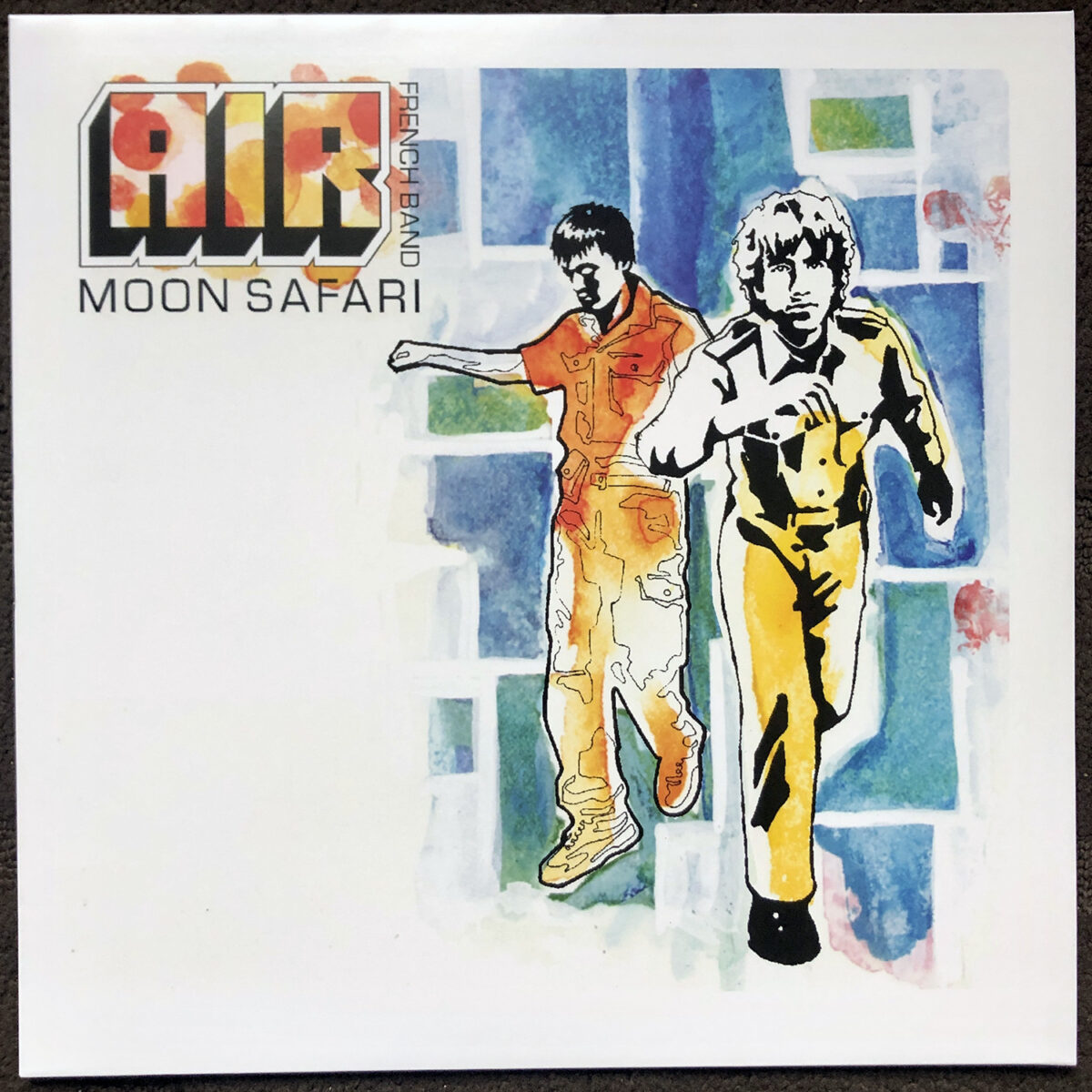 "Album of the day ""Moon Safari"" by Air. Space Pop made in France."