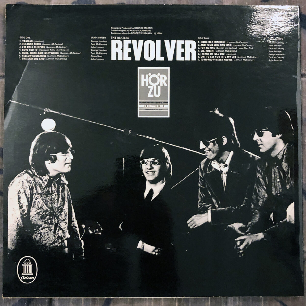 """Album of the day """"Revolver"""" by The Beatles."""