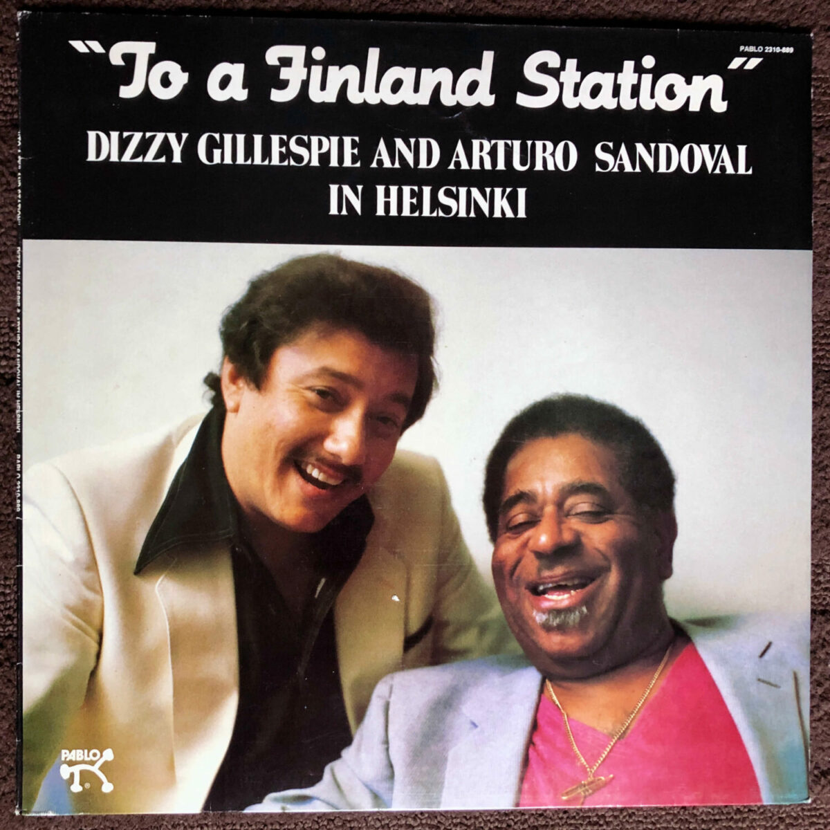 """""""To a Finland station"""" by Dizzy Gillespie and Arturo Sandoval"""