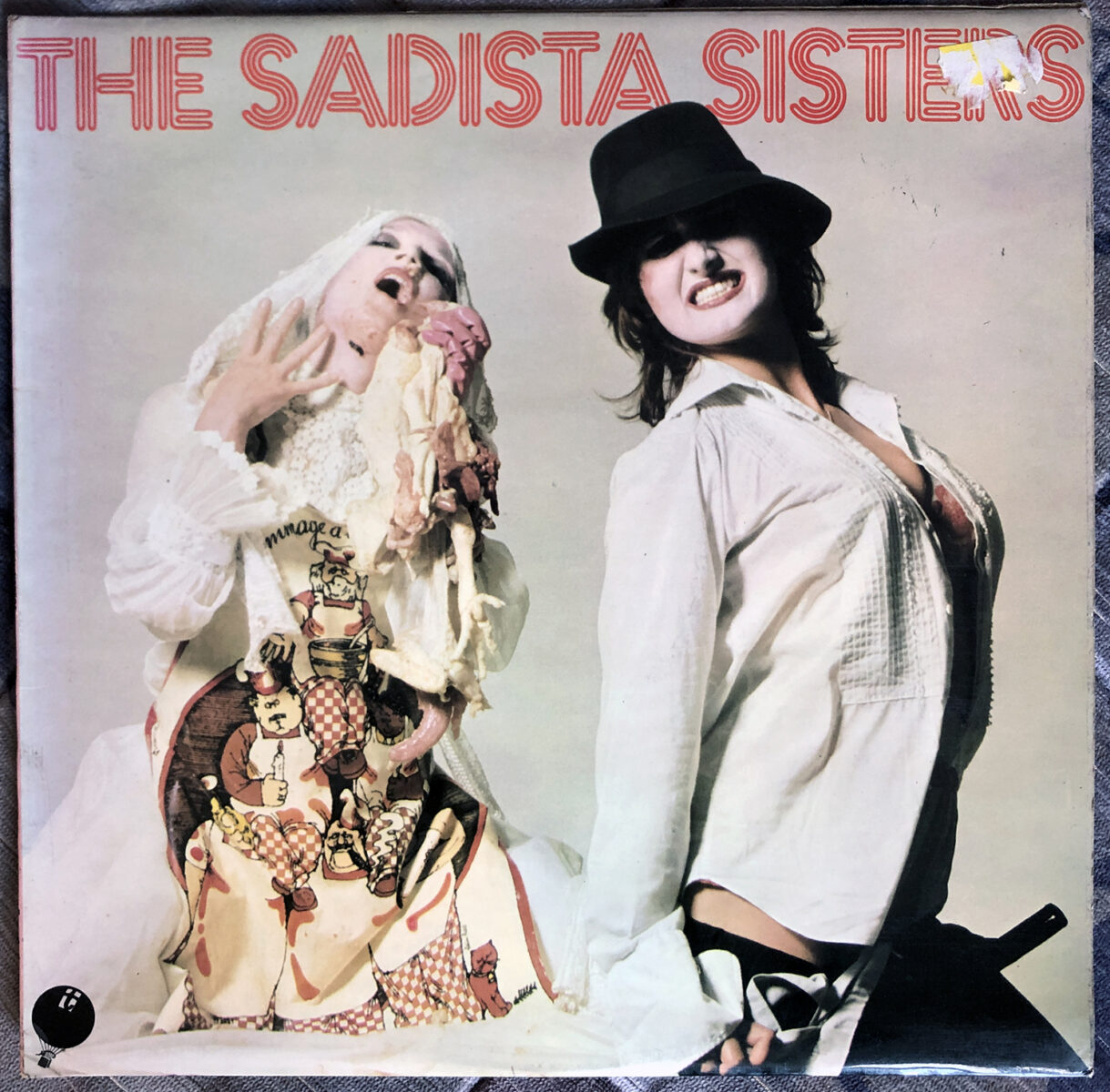The Sadista Sisters Front Cover