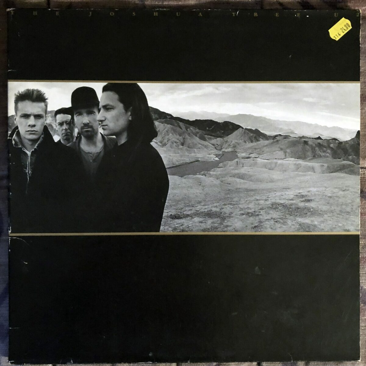 "Album of the day ""The Joshua Tree"" by U2. The album that made U2 famous around the world."
